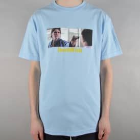 Do It For Johnny Skate T-Shirt - Baby Blue