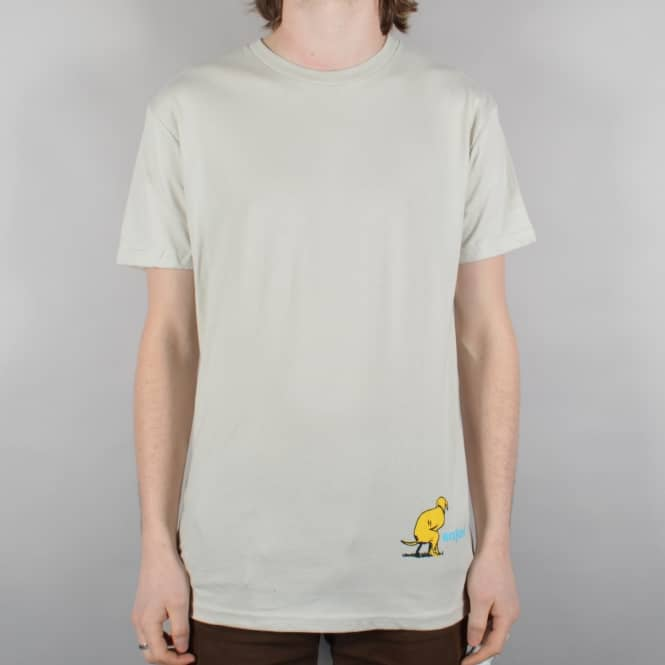 Enjoi Skateboards Dog Pooper Skate T-Shirt - Sand