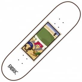 Dog Racing Stamps Series Skateboard Deck 8.25