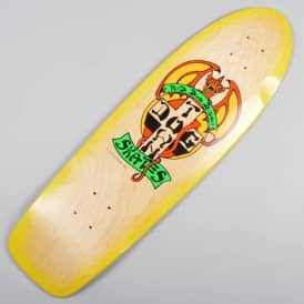 OG Rider Red Dog Skateboard Deck 9.0