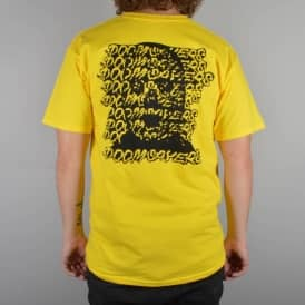Ghost Face T-Shirt - Yellow