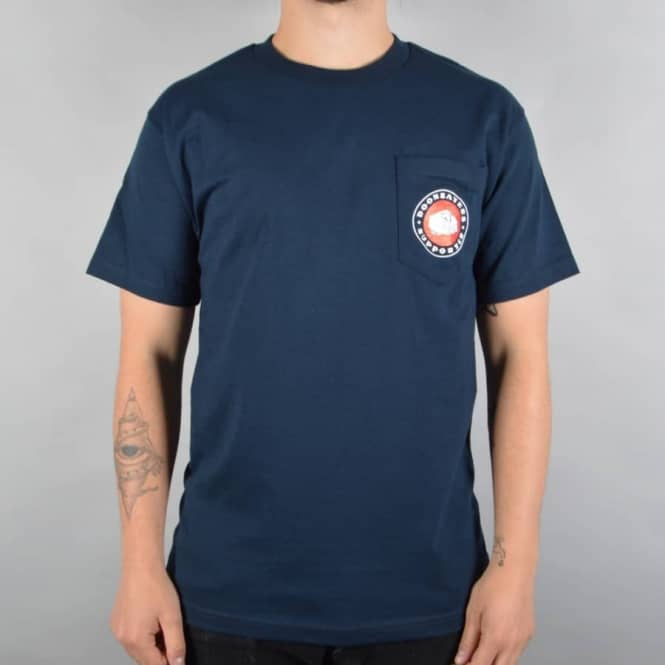 Doomsayers Club Poker Chip Pocket T-Shirt - Navy