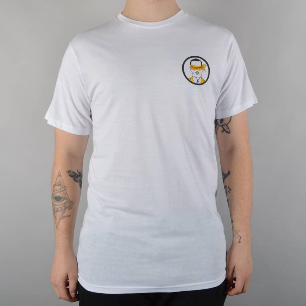 Doomsayers Club Snake Anatomy Skate T Shirt White Skate Clothing