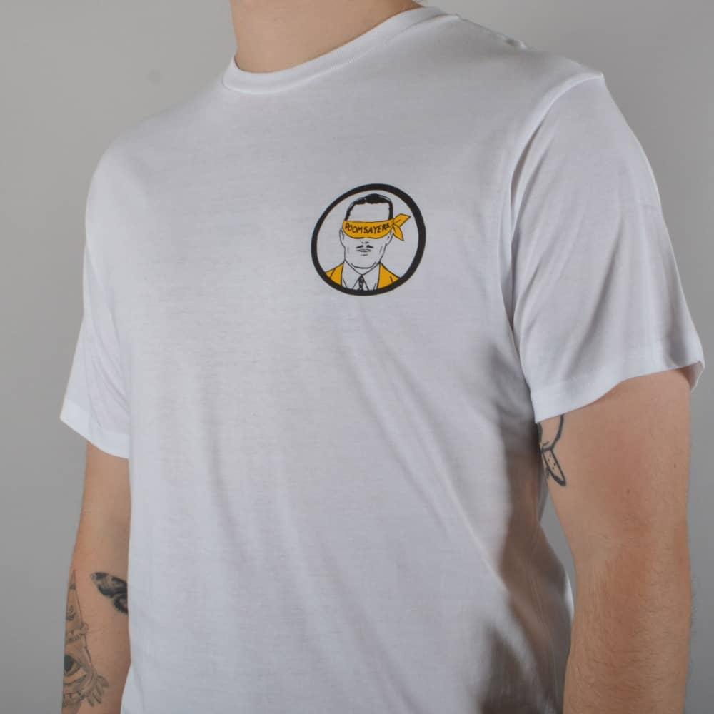 Doomsayers Club Snake Anatomy Skate T-Shirt - White - SKATE CLOTHING ...