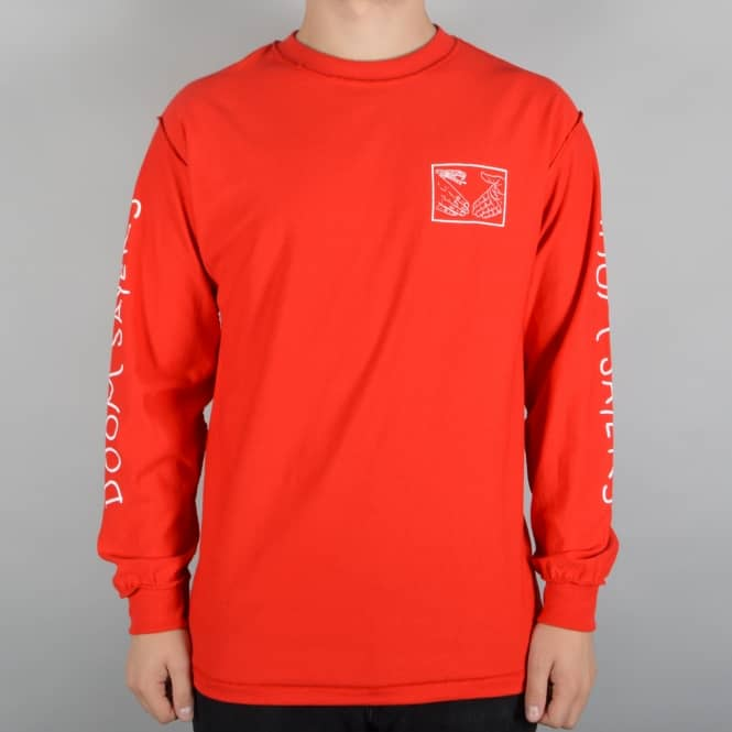 Doomsayers Club Snake Shake Longsleeve T-Shirt - Red