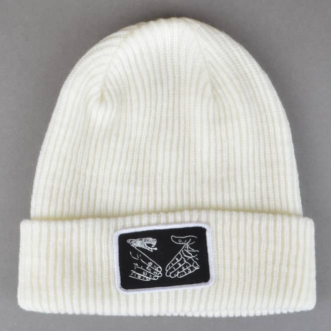 Doomsayers Club Snake Shake Sailor Beanie - White