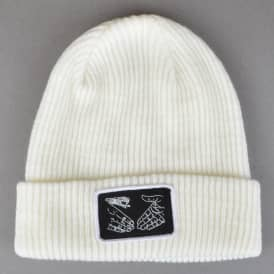 Snake Shake Sailor Beanie - White