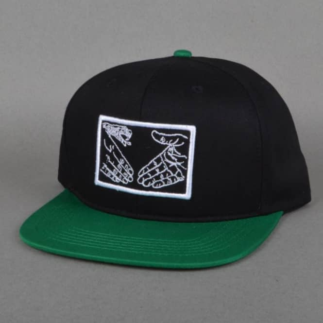 Doomsayers Club Snake Shake Snapback Cap - Black/Green
