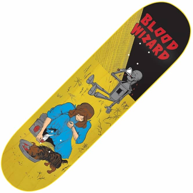 Blood Wizard Dorothy Revenge Skateboard Deck 8.25