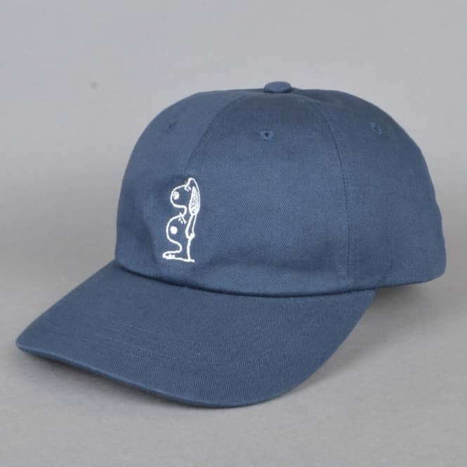 The Quiet Life Double Dog Dad Cap - Navy