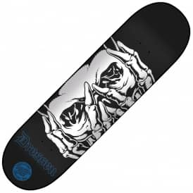 Santa Cruz Skateboards Dressen Skull Skateboard Deck 8.5""