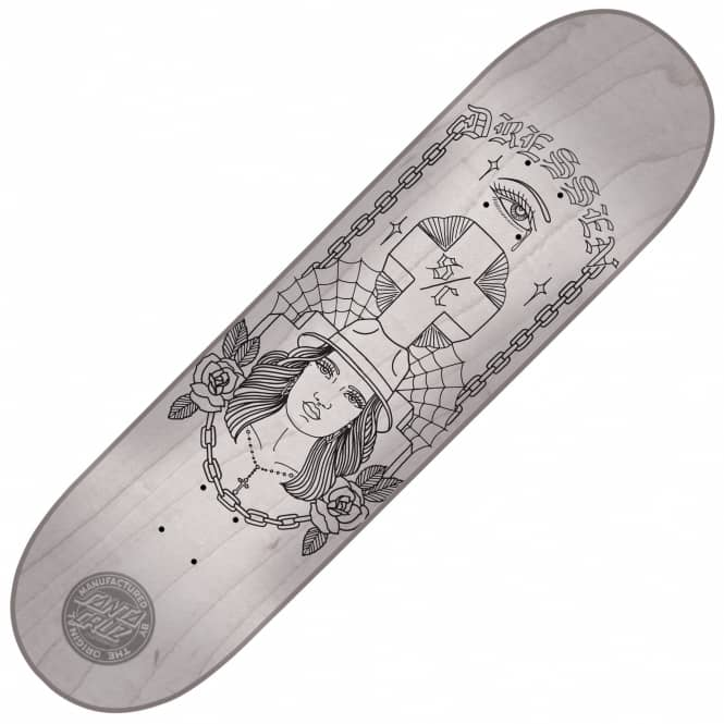 Santa Cruz Skateboards Dressen Trucha Skateboard Deck 8.5