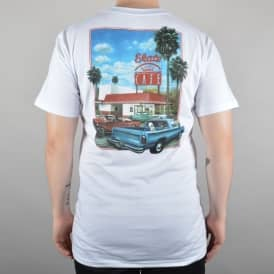 Drive Thru Skate T-Shirt - White