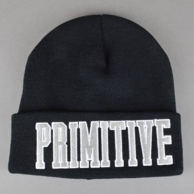Primitive Skateboarding Dropout Beanie - Black
