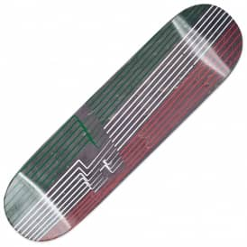 Palace Skateboards Drury P4 Green/White/Red Skateboard Deck 8.5""