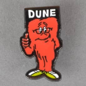 Dune Gossamer Pin Badge