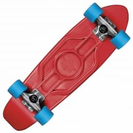 Dusters Skateboards Dusters Mighty Plastic Cruiser Skateboard Red/Blue