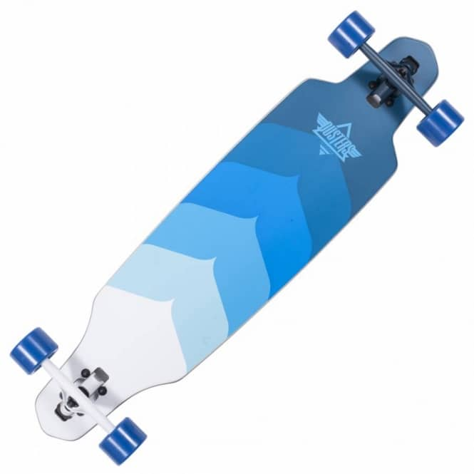 Dusters Skateboards Dusters Wake Drop Through Cruiser Skateboard - Kryptonic Blue