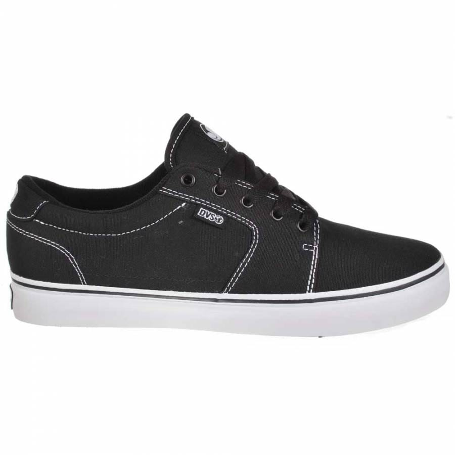 dvs shoes dvs convict black white canvas skate shoes dvs