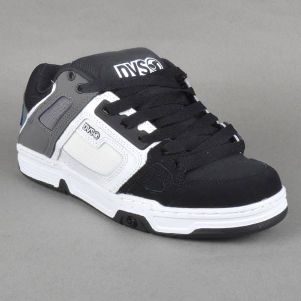 Dvs comanche black white nubuck dress