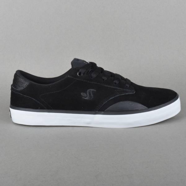 Daewon 14 Skate Shoes - Black Suede