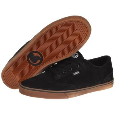 DVS Shoes DVS Daewon 12er Black Gum Suede Skate Shoes - Mens Skate ... 14dfdc0d0657