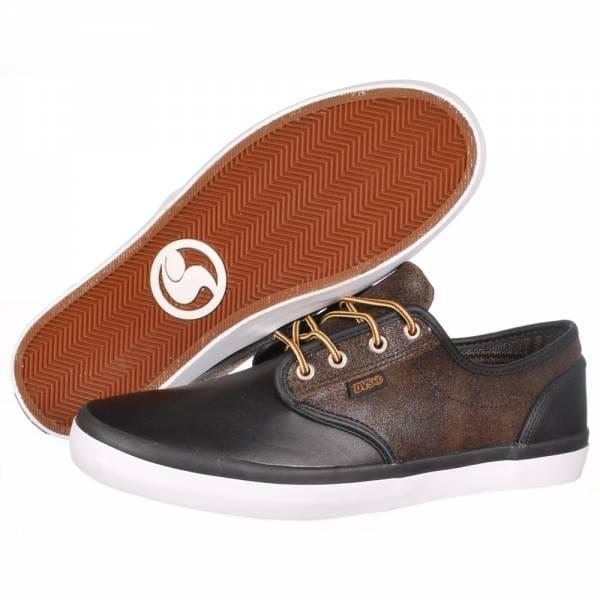 88d52a5cdfe5 DVS Shoes DVS Rico CT Skate Shoes - Black Leather - Mens Skate Shoes ...