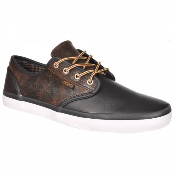 dvs shoes dvs ct skate shoes black leather dvs