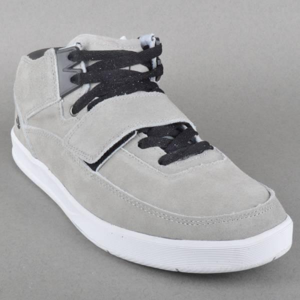 Torey 3 Skate Shoes - Grey/Black Suede