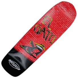 Eddie Elgato Elguera Alley Cat Skateboard Deck 9.0