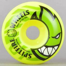 Electrofire Yellow 99D Skateboard Wheels 53mm