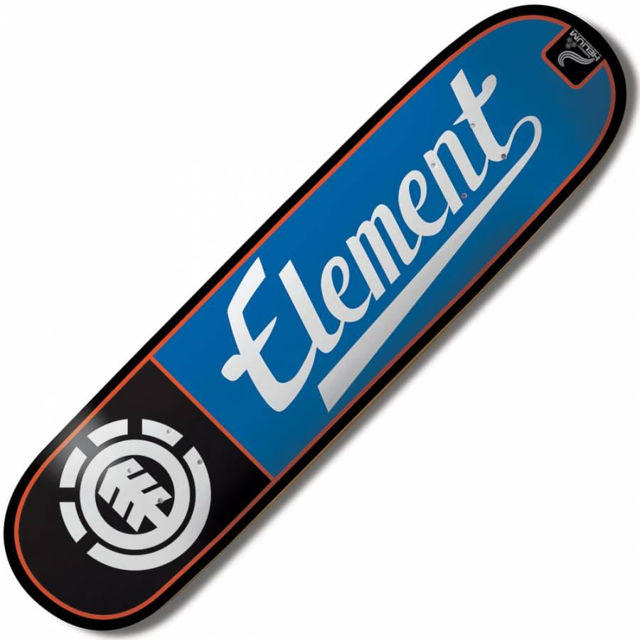 Element Skateboards Element Helium Script Skateboard Deck ...