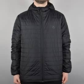 Element Skateboards Alder Puff TW Jacket - Flint Black
