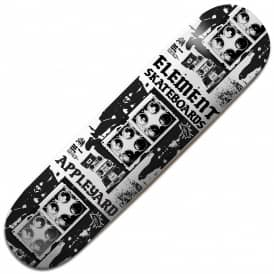Element Skateboards Appleyard Rocksteady Skateboard Deck 8.125""