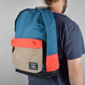 Element Skateboards Beyond Backpack - Morrocco Blue/Clay
