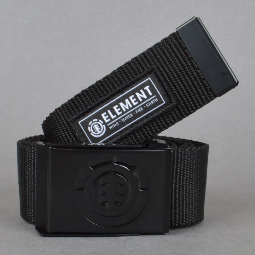 Element Skateboards Beyond All Black Web Belt