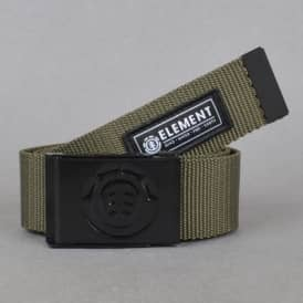 Element Skateboards Beyond Belt - Military Green