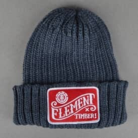 Element Skateboards Counter Beanie - Dark Charcoal