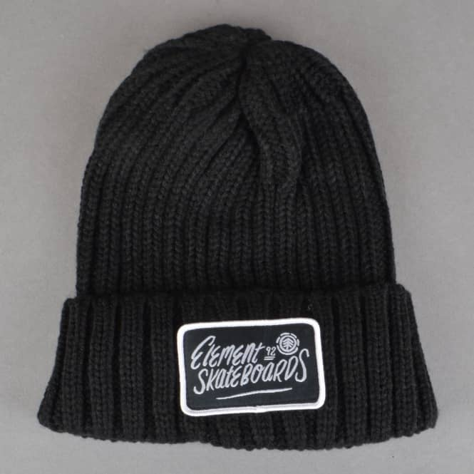 Element Skateboards Counter Beanie - Flint Black