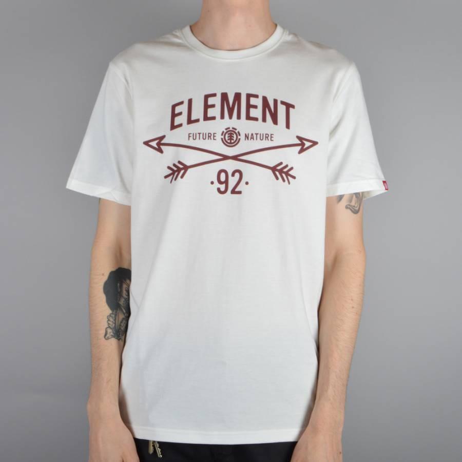 element skateboards cross arrows skate t shirt off white. Black Bedroom Furniture Sets. Home Design Ideas