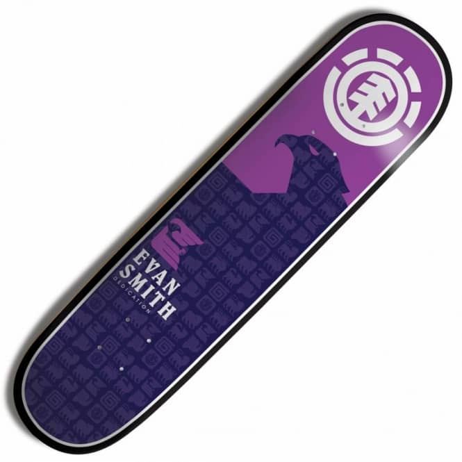 Element Skateboards Element Evan Smith Chromatic Mini Skateboard Deck 7.625''