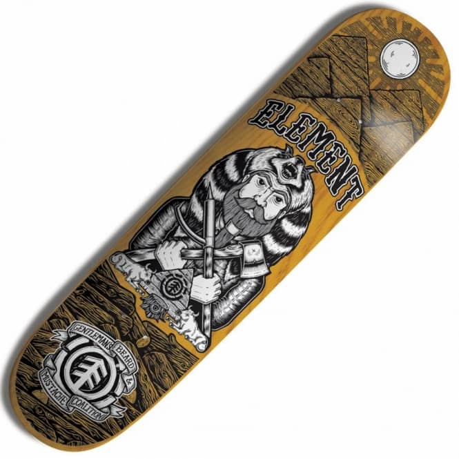 Element Skateboards Element GBMC Movember Pharaoh Thriftwood Skateboard Deck 8.25''