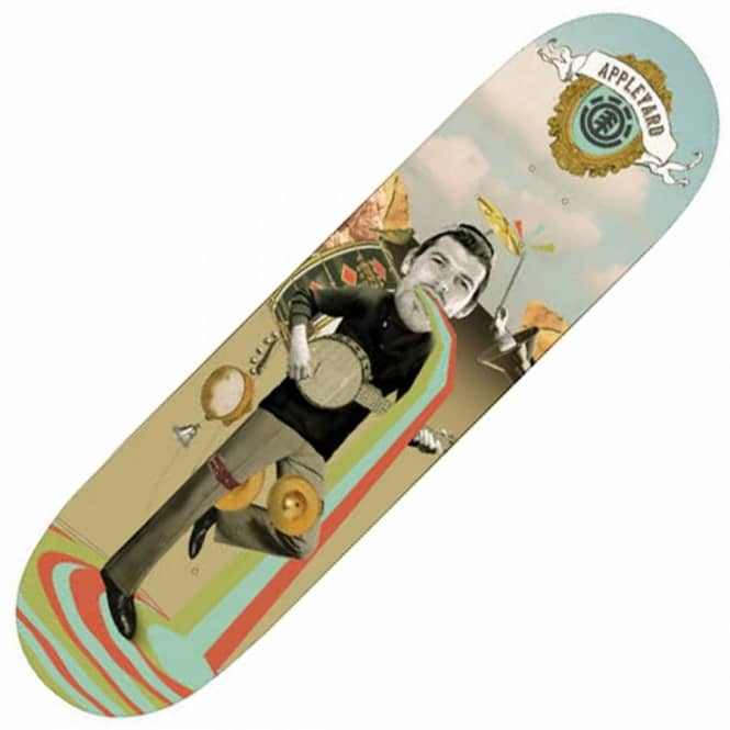 Element Skateboards Element Mark Appleyard One Man Band Skateboard Deck 8.25''