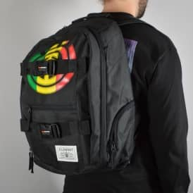 Element Skateboards Element Mohave Backpack - Black/Rasta