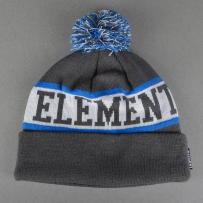 Element Skateboards Fairfax Bobble Beanie - Charcoal