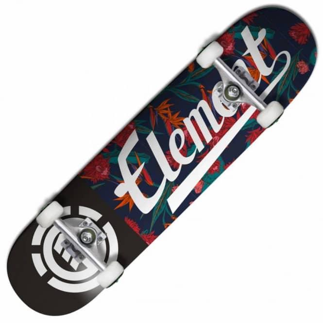 d923dad5a28 Element Skateboards Element Skateboards Floral Script Complete Skateboard  7.75''