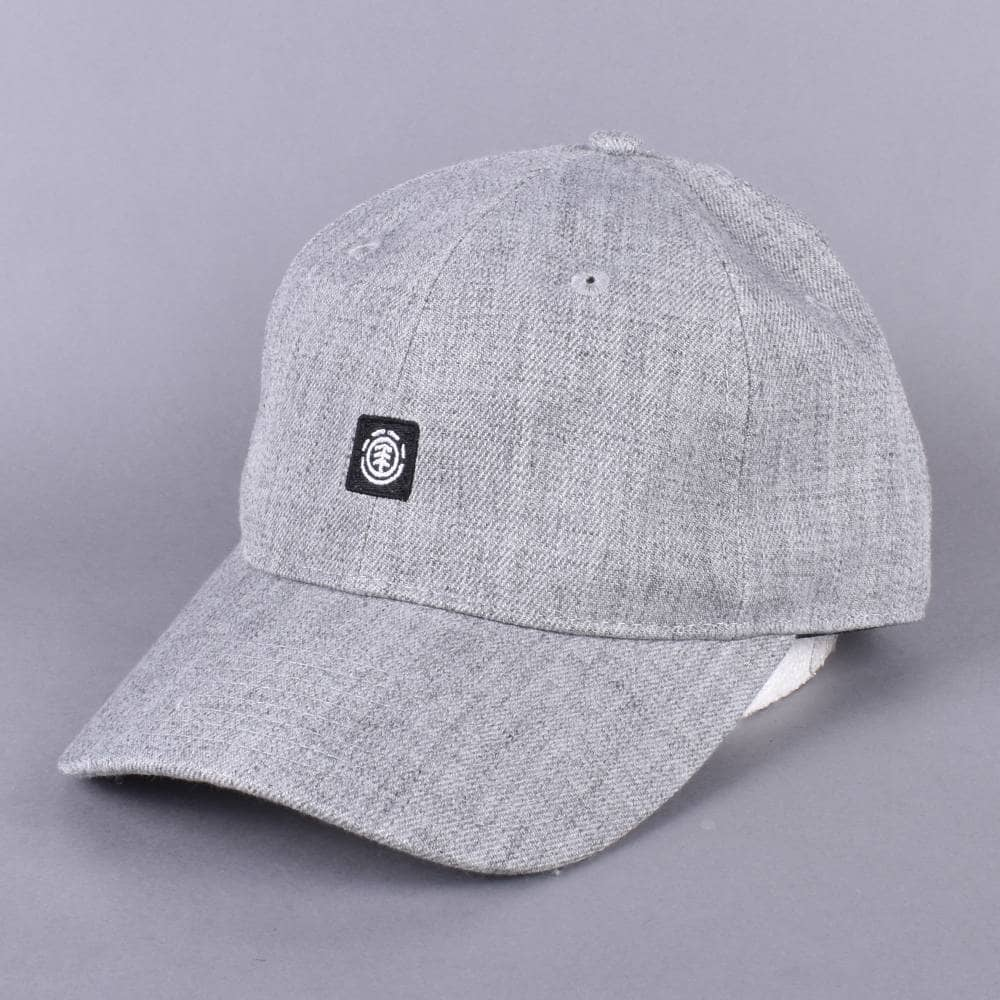 3880d4e1398 Element Skateboards Fluky Dad Cap - Grey Heather - SKATE CLOTHING ...