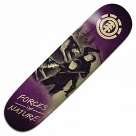 Forces Of Nature Wolf Skateboard Deck 8.375''