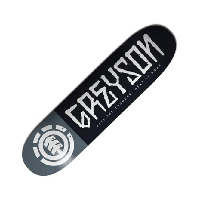 Element Skateboards Greyson Fletcher Script Skateboard Deck 8.25