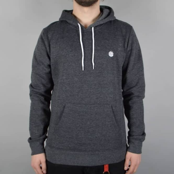 Element Skateboards Grime Pullover Hoodie - Charcoal Heather